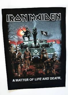 Iron Maiden A Matter Of Life Death Back Patch   http://www.ebay.co.uk/itm/Iron-Maiden-Matter-Life-Death-Back-Patch-heavy-metal-leather-denim-jacket-/271331828779?pt=UK_Women_s_Vintage_Clothing&hash=item3f2ca3242b