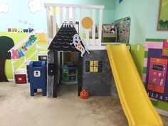 Transform your Childcare Loft into a Haunted House!