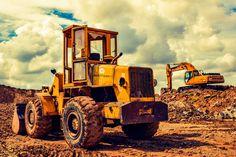 #bulldozer #debris #equipment #excavator #heavy machine #machinery #vehicle #yellow