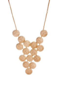 Blossom Bib by JustFab takes statement jewelry to the next level.