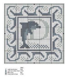 Monogramas para bordar em ponto cruz | Ponto Cruz-Cross Stitch-Punto Cruz-十字绣-Punto Croce-Kreuzstitch-Point de Croix-вышивк