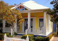 Colorful and Diverse Cottages at Seaside, a Beach Community in Northwest Florida by UGArdener, via Flickr
