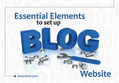Essential Elements to Set Up #Blog Website  #businessblogging #blogwebsite