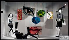 >>>Cheap Sale OFF! >>>Visit>> the face is like a work of art pinned by Ton van der Veer Fashion Window Display, Fashion Displays, Store Window Displays, Display Windows, Visual Display, Display Design, Store Design, Retail Windows, Store Windows