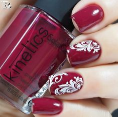 Flowers Nail Art New Idea for Spring 2018 - Reny Styles Source by Flower Nail Designs, Black Nail Designs, Best Nail Art Designs, Nail Designs Spring, Red Nail Art, Acrylic Nail Art, Cool Nail Art, Pink Nails, Fingernail Designs