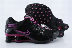 e0a8ecacb286 Nike Shox NZ Black Pink Womens Shoes Air Shox Womens sale on http