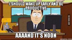 aaaaand it's noon- my life