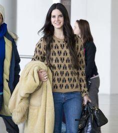 Lana at JFK Airport, New York (Feb. 26, 2013)
