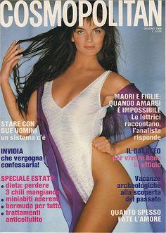 Paulina Porizkova - Cosmopolitan Italy June 1988