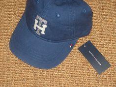 Tommy Hilfiger Baseball Cap Sport Cotton Hats for Men Boys Puffer Jacket, Puffer Jackets, American Giant, Flag Logo, Michael Kors Men, Baseball Caps, Tommy Hilfiger, Polo Ralph Lauren, Navy Blue