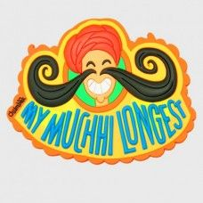 Mirror mirror on the wall who has the longest moustache of them all!! Record breaking Mucchi; 	 The magnet is embedded which ensures it is neatly tucked in and ensures a clean and neat finish to the magnet. Take it out of the pack and it is ready to go up on your fridge immediately. #SellMojo #SellMojoproductoftheday