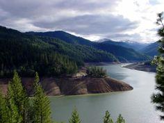 Applegate Lake. Southern Oregon