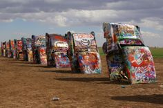 Cadillac Ranch, Amarillo Texas AKA THE ONLY THING COOL ABOUT AMARILLO