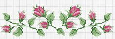 This Pin was discovered by Міл Beaded Cross Stitch, Cross Stitch Borders, Cross Stitch Rose, Cross Stitch Flowers, Cross Stitch Charts, Cross Stitching, Cross Stitch Embroidery, Cross Stitch Patterns, Hand Embroidery Flowers