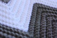 Custom order forTaraBear- Design Your Own Chevron Crochet Baby/Toddler Afghan