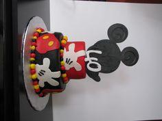 Mickey 40th birthday cake