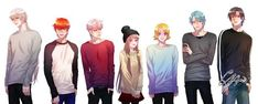 love the whole crew with mc, but i wish jaehee was there to :/ Mystic Messenger Characters, Mystic Messenger Fanart, Hello Darkness Smile Friend, Manga Anime, Character Art, Fandoms, Fan Art, Girl Stuff, Memes