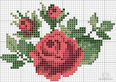 Thrilling Designing Your Own Cross Stitch Embroidery Patterns Ideas. Exhilarating Designing Your Own Cross Stitch Embroidery Patterns Ideas. Cross Stitching, Cross Stitch Embroidery, Embroidery Patterns, Hand Embroidery, Cross Stitch Rose, Cross Stitch Flowers, Cross Stitch Designs, Cross Stitch Patterns, Bead Loom Patterns