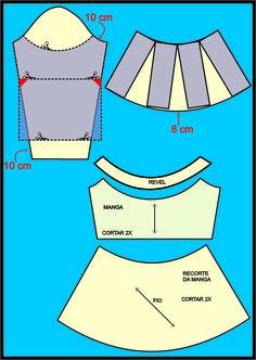 Que tal iniciar a semana, traçando o molde dessa blusa, cheia de estilo, da #FátimaBernardes?    Imagem: Gshow      O detalhe deste mode...