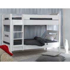 Venta litera juvenil MILO Blanca con 3ª cama opcional MobiKids