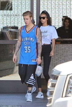 Justin Bieber hits the gym with rumoured new girl Jayde Pierce in tow  #dailymail