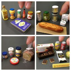 Part of my collection of Japanese miniatures - Bullshit Cheese and Other Goodies...