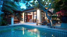 pool villa in Thailand