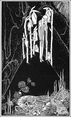 Dorothy Lathrop ~ illus. for Down-Adown-Derry by Walter de la Mare, 1922 - via A Journey Round My Skull  See more Dorothy Lathrop and read a wonderful guest post, Treatise on Fairies