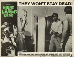 Night of the Living Dead, George A. Romero.
