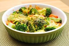 Сырно - овощная запеканка - диабетический рецепт