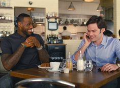 The People of Cleveland Are Really Into LeBron James as an Actor LeBron James, Bill Hader, Trainwreck