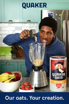 Enjoy delicious and healthy Quaker Oats recipes the whole family will love that goes beyond a bowl of oatmeal. From breakfast to desserts, we have recipes for every season including sweet and savory. Quaker Oats Recipes, Oatmeal Recipes, Big Mac, Butter Squash Recipe, Manhattan Recipe, Proper Nutrition, Human Nutrition, Nutrition Guide, Nutrition Education