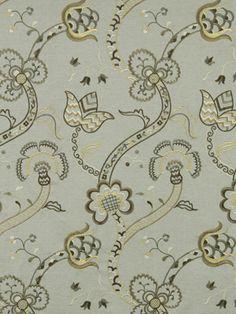 Robert Allen fabric - on sale now! Courtyard Vine #sewing #fabric #designer