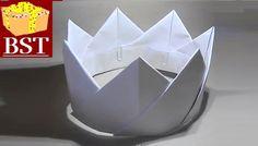 Как сделать корону короля своими руками из бумаги А4 и скрепок?