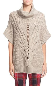 Trina Turk 'Amarisa' Cabled Dolman Sleeve Merino Pullover available at #Nordstrom