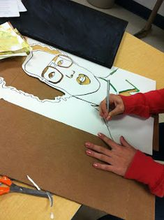 Paper cut, stencil, topography