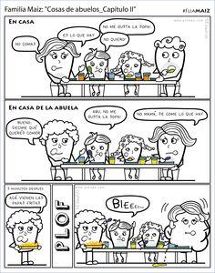 """""""Cosas de abuelos_capítulo II"""" #FliaMAIZ"""