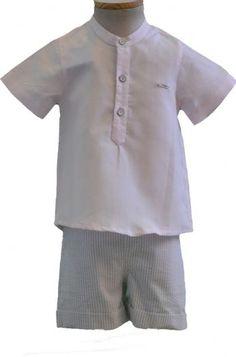 Conjunto de Pantalon, camisa y chaquetón. Marca Foque