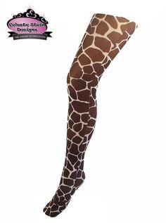 Fancy Dress Leggings Zebra//Tiger//Giraffe//Leopard Print Girls//Ladies All Sizes