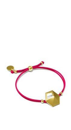 MONOHEX BRACELET - My Magpie - Austrian jewellery design label 3D printing technology 3d Printing Technology, Magpie, Vienna, Jewelery, Gold, Pink, Label, Jewelry Design, Bracelets