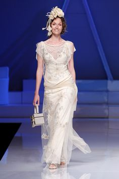 Don't worry if white isn't your colour - go with a flush of blush or a hint of pink on wedding day.