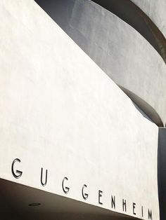 Out and about at the Guggenheim via @RHS ArtandDesign