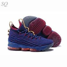 "the latest e835f 40997 Nike LeBron 15 ""Cavs"" James Basketball Shoes 40-46"