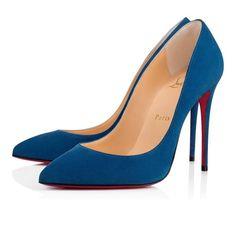 5b13ee735c0 Shoes - Pigalle Follies 100 Veau Velours - Christian Louboutin Christian  Louboutin