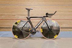 Dekker's Koga TeeTeeTrack hour record bike