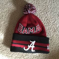 cheap for discount 0dfcb 3abb3 University of Alabama beanie. Worn a couple of times. Great condition and  very warm