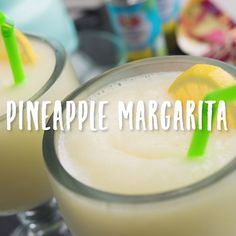 Looking for the perfect weekend cocktail? We have you covered with this Pineapple Margarita!