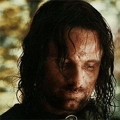Aragorn, son of Arathorn. All that wander are not lost.
