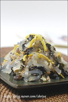 Korean Dishes, Korean Food, Rice Noodle Recipes, Vegetable Seasoning, Clean Recipes, Pork, Food And Drink, Low Carb, Yummy Food