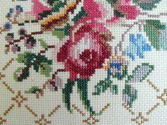 14''x14'' Swedish Floral Pillow Swedish